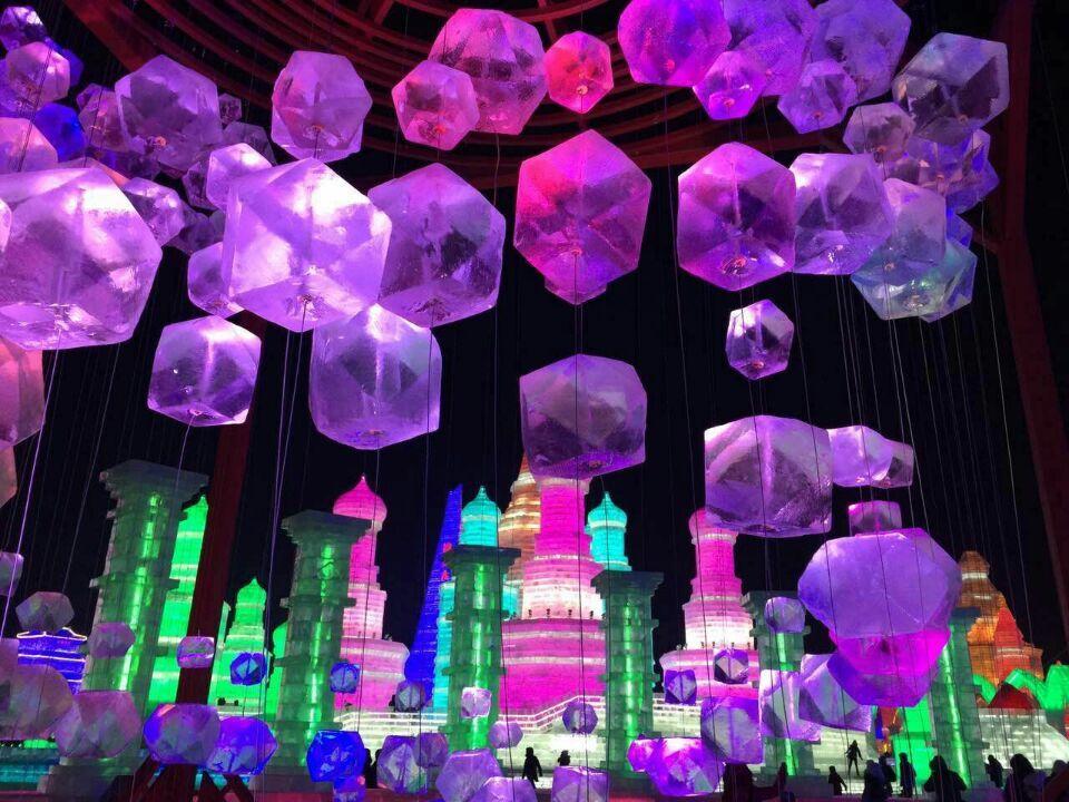 Harbin Ice Festival Video For Kids