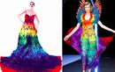 Fashion Designers Recreate Alexander McQueen's Famous 'Parrot Dress' From 50,000 Gummy Bears