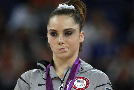 US Gymnast  Out Scowled By President Obama!