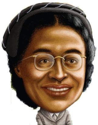 Young Rosa Parks In Color Celebrating black history month kids news ...