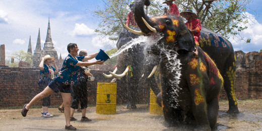 Southeast Asia Welcomes Songkran (New Year) With A Splash
