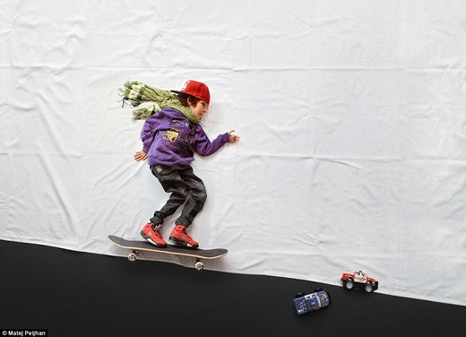 Creative Photographer Fulfills Young Boy's Wish To Experience Life's Simple Pleasures