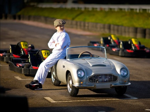 lets face it vehicles made for kids are kind of lame after all where is the thrill in driving a car whose top speed is 5 mph