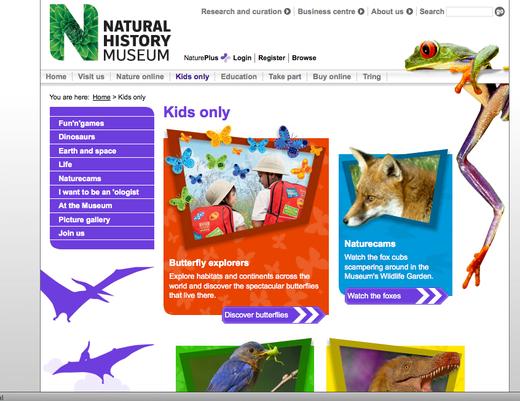 Natural History Museum - Kids